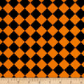 Fright Night Harlequin Black And Orange