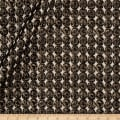 "112"" Angers Metallic Jacquard Ebony"