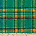 Kaufman Highlander Flannel Plaid Green