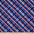 American Pride Bias Plaid Red/White/Blue