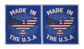 "American Pride USA 23.5"" Panel Red/White/Blue"