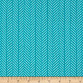 Hello Jane Herringbone Teal