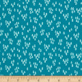 Notepad Raindrops Teal