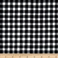 The Hen House Gingham Black