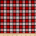 Mad for Plaid Flannel Square Plaid Red