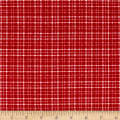 Mad for Plaid Flannel Mono Plaid Red