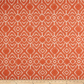 Scott Living Abydos Basketweave Reflection Orange Belgian