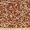 Cozy Cabin Christmas Cut Logs Red