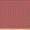 Fabricut Commune Chenille Apple Red