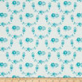 Tanya Whelan Shades of Rose Trellis Teal