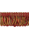"Jaclyn Smith 1.75"" 02109 Loop Fringe Cardinal"