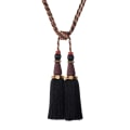 "Trend 31.5"" 02124 Double Tassel Tieback Jewel"