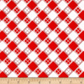Riley Blake Glamper-licous Picnic Red