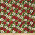 Anne of Green Gables Poinsettias Green