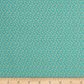 Riley Blake Forget-me-not Confetti Aqua