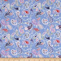 Penny Rose Coming up Roses Paisley Blue