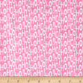 Michael Miller Minky Holiday Row Holiday Ho Pink