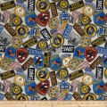 Protect & Serve Police Badges Natural