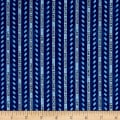 QT Fabrics Protect & Serve Protect & Serve Stripe Navy