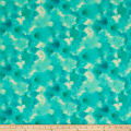QT Fabrics Delaney Cloud Texture Aqua