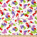 Ink & Arrow Indian Paintbrush Paint Splatter White