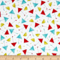 QT Fabrics Santoro Gift Of Friendship Umbrellas White
