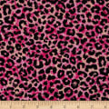 Ink & Arrow Toucan Do It! Leopard Print Pink