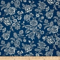 Indigo Influence Indigo Floral Blue