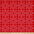 Finespun Tesserae Red