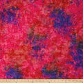 Primo Batiks Red Sky Mottle Red