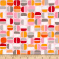 Kanvas Koala Baby Nutty Geo Pink/Orange