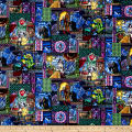 Disney Beauty and the Beast Stained Glass Multi
