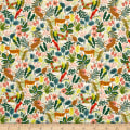 Cotton + Steel Rifle Paper Co. Menagerie Jungle Natural
