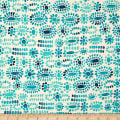 Cotton + Steel Sienna Cabachon Turquoise