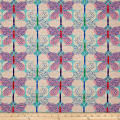 Cotton+Steel Beauty Shop Canvas Butterfly Pink