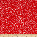 Kaufman Windowsill Garden Circles Red