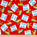 Dr Seuss Hop On Pop Words Red