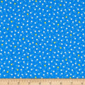 Kaufman Tiny Happy Lucky Stars Blue