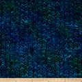Kaufman Batiks Reflections Stripe Ocean