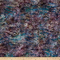 Kaufman Batiks Reflections Crazy Wineberry