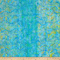 Kaufman Batiks Wavelengths Hash Stripe Aqua