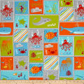 Big Splash Sea-Life Patchwork Multi