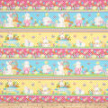 Hop To It Bunny Novelty Stripe Multi