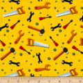 Let's Build Tossed Tools Yellow