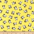 & Co. Panda-monium Flannel Mini Panda Yellow