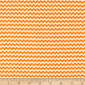 & Co. Panda-monium Flannel Zig Zag Orange