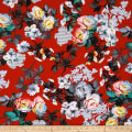 Romance Romantic Large Floral Red