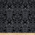 Romance Romantic Damask Black
