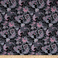 Romance Romantic Paisley Black