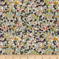 Liberty Fabrics Classic Tana Lawn Wiltshire Bluberry Garden Green/Yellow